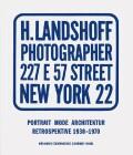 Hermann Landshoff: Portrait, Fashion, Architecture - Retrospective 1930-1970 - Ulrich Pohlmann, ...