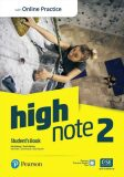 High Note 2 Student´s Book with Pearson Practice English App + Active Book - Bob Hastings