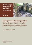 Hrad jako technický problém - Zdeněk Měřínský
