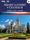 Hrady a zámky v Čechách - 5 DVD - neuveden
