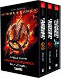 HUNGER GAMES – 1.-3.díl - dárkový box (komplet) - Suzanne Collinsová