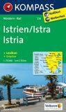 Istrien,Istria 238 / 1:75T NKOM - KOMPASS-Karten GmbH