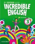 Incredible English 3 Class Book (2nd) - Sarah Phillips