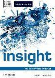 Insight Pre-Intermediate Workbook with Online Practice - Rachel Roberts