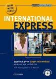 International Express Interactive Ed. Upper Intermediate Student´s Book + Pocket Bk + MultiRom + DVD - Harding Keith