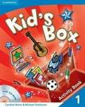 Kid´s Box 1 Activity Book with CD-ROM - Caroline Nixon, ...