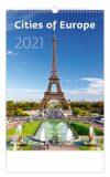 Cities of Europe - nástěnný kalendář 2021 - Helma365