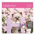 Little Fun - nástěnný LP kalendář 2021 - Helma