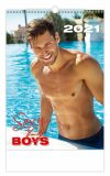 Kalendář 2021 nástěnný: Sexy Boys, 315x450 - Helma