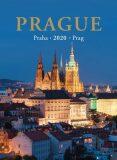 Kalendář 2020 nástěnný - Praha - neuveden