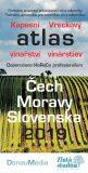 Kapesní atlas vinařství/Vreckový atlas vinárstev - Čech, Moravy - Slovenska 2019 - Donau Media
