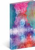 Kapesní diář Cambio Fun 2021, Mandala 9 × 15,5 cm - neuveden
