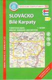 KČT 92 Slovácko, Bílé Karpaty 1:50 000 - Klub českých turistů