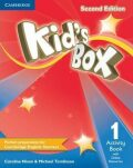 Kid´s Box 1 Activity Book vith Online Resources, 2nd Edition - Caroline Nixon