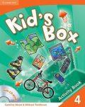Kid´s Box 4 Activity Book with CD-ROM - Caroline Nixon, ...