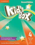 Kid´s Box 4 Activity Book with Online Resources, 2nd Edition - Caroline Nixon