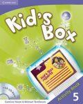 Kid´s Box 5 Activity Book with CD-ROM - Caroline Nixon, ...