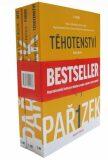 Kniha o těhotenství, porodu a dítěti 1.-3. díl - dárkový box (komplet) - Antonín Pařízek, ...