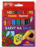 Koh-i-noor barvy na sklo slupovací 7x10,5ml - KOH-I-NOOR