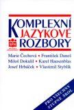 Komplexní jazykové rozbory - Marie Čechová