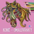 Koně - omalovánky - Yulia Mamonova