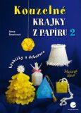 Kouzelné krajky z papíru 2 - krabičky a dekorace - Anna Šmalcová