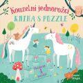 Kouzelní jednorožci Kniha s puzzle - Lisa Reganová