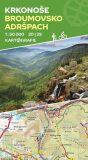 Krkonoše, Broumovsko, Adršpach (20/29) - oboustranná turistická mapa 1:50 000 - neuveden