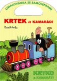 Krtek a kamarádi - omalovánka - Zdeněk Miler