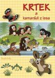 Krtek a kamarádi z lesa - Omalovánky A4 - Akim