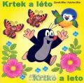 Krtek a léto - omalovánky čtverec - Miler Zdeněk, Miler Kateřina
