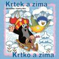 Krtek a zima - omalovánky čtverec - Zdeněk Miler, Kateřina Miler