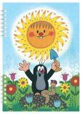 Školní zápisník Krtek - Akim