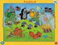 Puzzle Krtek v jahodách - Dino Toys