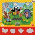 Puzzle Krtek zahradníkem - Dino Toys