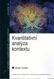 Kvantitativní analýza kontextu - Václav Cvrček