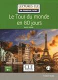 Lectures faciles 3: Le Tour du monde en 80 jours - Livre + audio online - Jules Verne