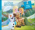 Ledové království - Kniha puzzle - Poskládej si pohádku - Walt Disney