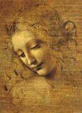 Leonardo da Vinci: Tvář mladé dívky - Puzzle/1500 dílků - Ricordi