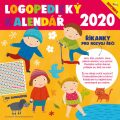 Logopedický kalendář se samolepkami - nástěnný kalendář 2020 - Michaela Bergmannová