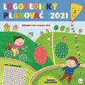 Logopedický plánovač 2021 (se samolepkami) - Pavla Köpplová