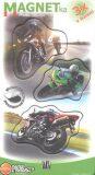 Magnetky Motorky - MF 058 - JUMPee