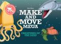 Make and Move Mega: Creatures of the Deep - Hisao
