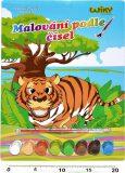 Malování podle čísel - Tygr - neuveden