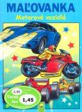 Maľovanka Motorové vozidlá -
