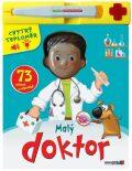 Malý doktor - 73 otázek a odpovědí + chytrý teploměr - Rebo