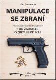 Manipulace se zbraní při zkoušce odborné způsobilosti - Jan Komenda