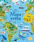 Mapa světa - Velká bludišťárna - kolektiv autorů