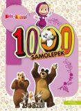 Máša a medvěd 1000 samolepek - Animaccord