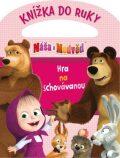 Máša a medvěd Knížka do ruky Hra na schovávanou - Animaccord